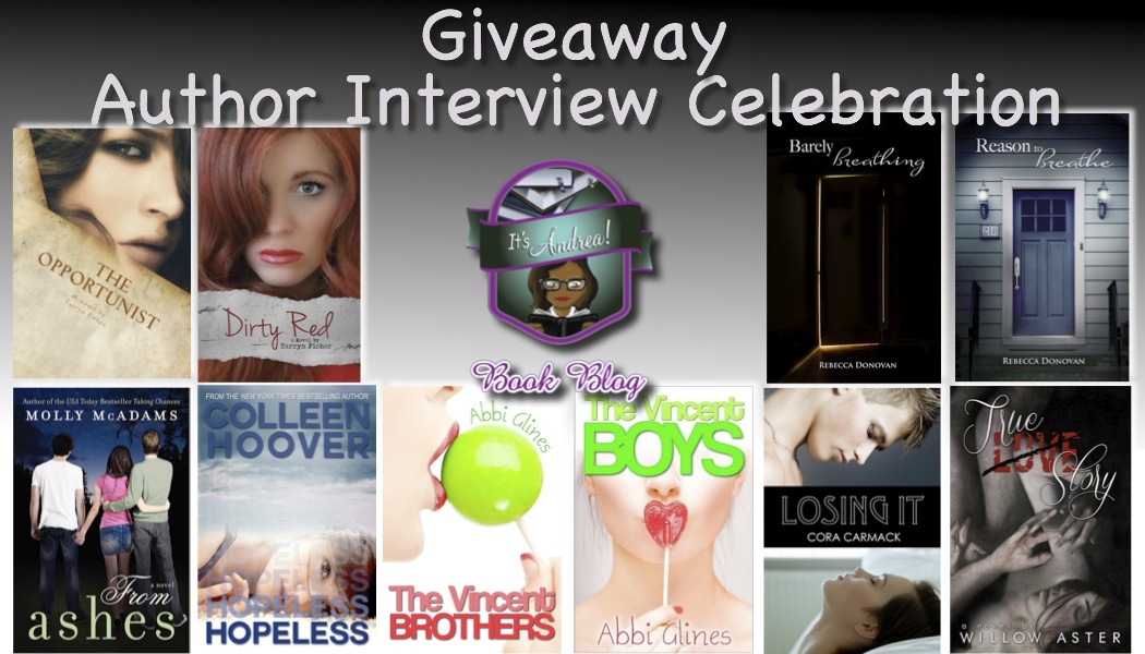 13 Authors Giveaway