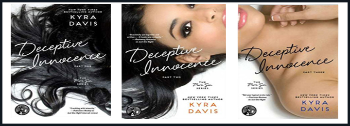 Book Review of Deceptive Innocence Part 1,2,3 by Kyra Davis